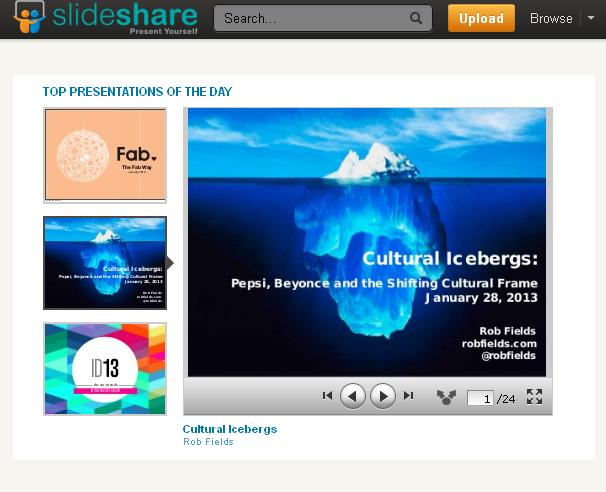 u0026quot cultural iceberg u0026quot  presentation featured on slideshare